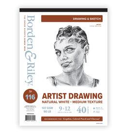 ARTIST SKETCH VELLUM PAD #116 9X12