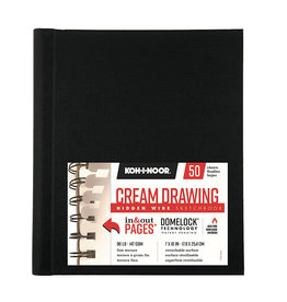 KOH-I-NOOR CREAM DRAWING PAD 7X10