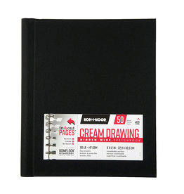 KOH-I-NOOR CREAM DRAWING PAD 9X12