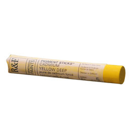 R&F PAINTS R&F STICK 38ml CADMIUM YELLOW DEEP