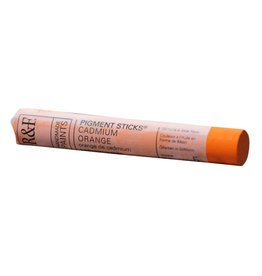 R&F PAINTS R&F STICK 38ml CADMIUM ORANGE