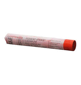 R&F PAINTS R&F STICK 38ml CADMIUM RED MEDIUM