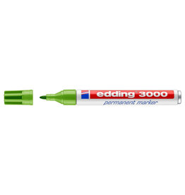 EDDING EDDING 3000 BULLET PERMANENT MARKER LIGHT GREEN
