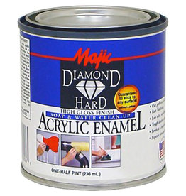 DIAMONDHARD GLOSS ACRYLIC ENAMEL .5PT BLACK