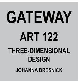 HULL'S ART 122 - 3D DESIGN - JOHANNA BRESNICK