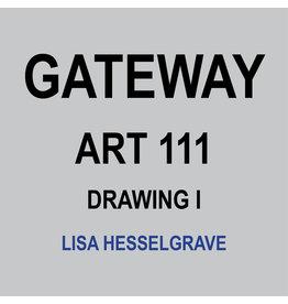 HULL'S ART 111 - DRAWING I - LISA HESSELGRAVE