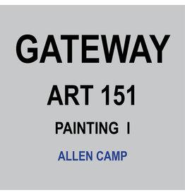 HULL'S ART 151 - PAINTING I - ALLEN CAMP
