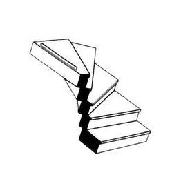 PLASTRUCT 1:48 LEFT TURN STAIRCASE