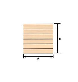 CLAPBOARD SIDING 1/4 SCALE