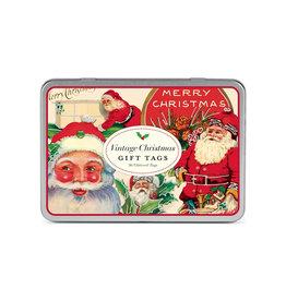 CAVALLINI & CO. GIFT TAGS VINTAGE CHRISTMAS