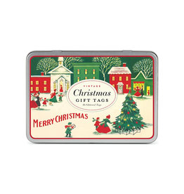 CAVALLINI & CO. GIFT TAGS CHRISTMAS VILLAGE