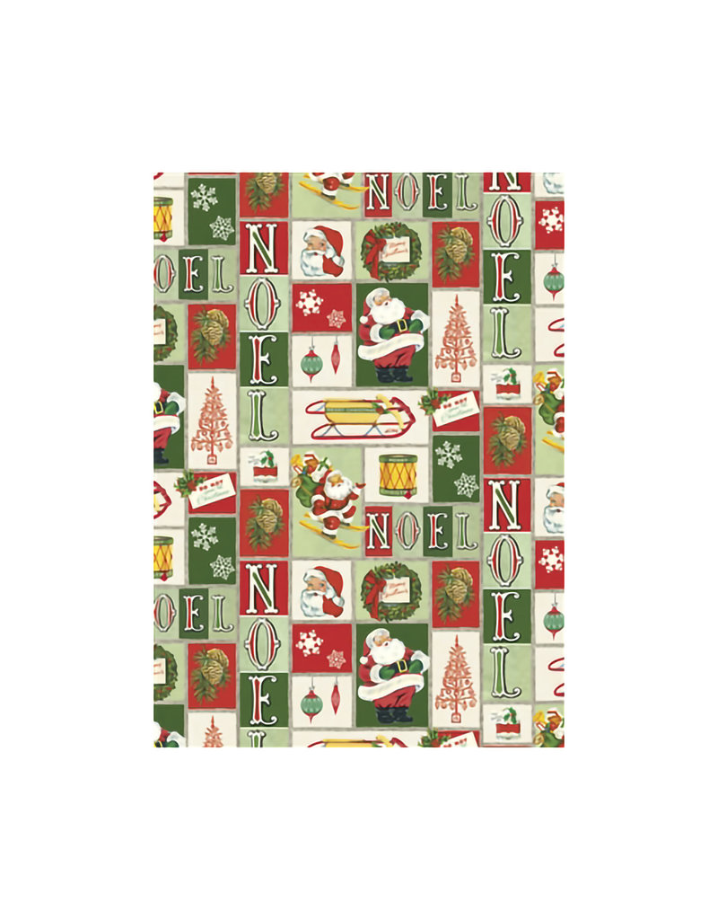 CAVALLINI & CO. DECORATIVE PAPER NOEL 20X28