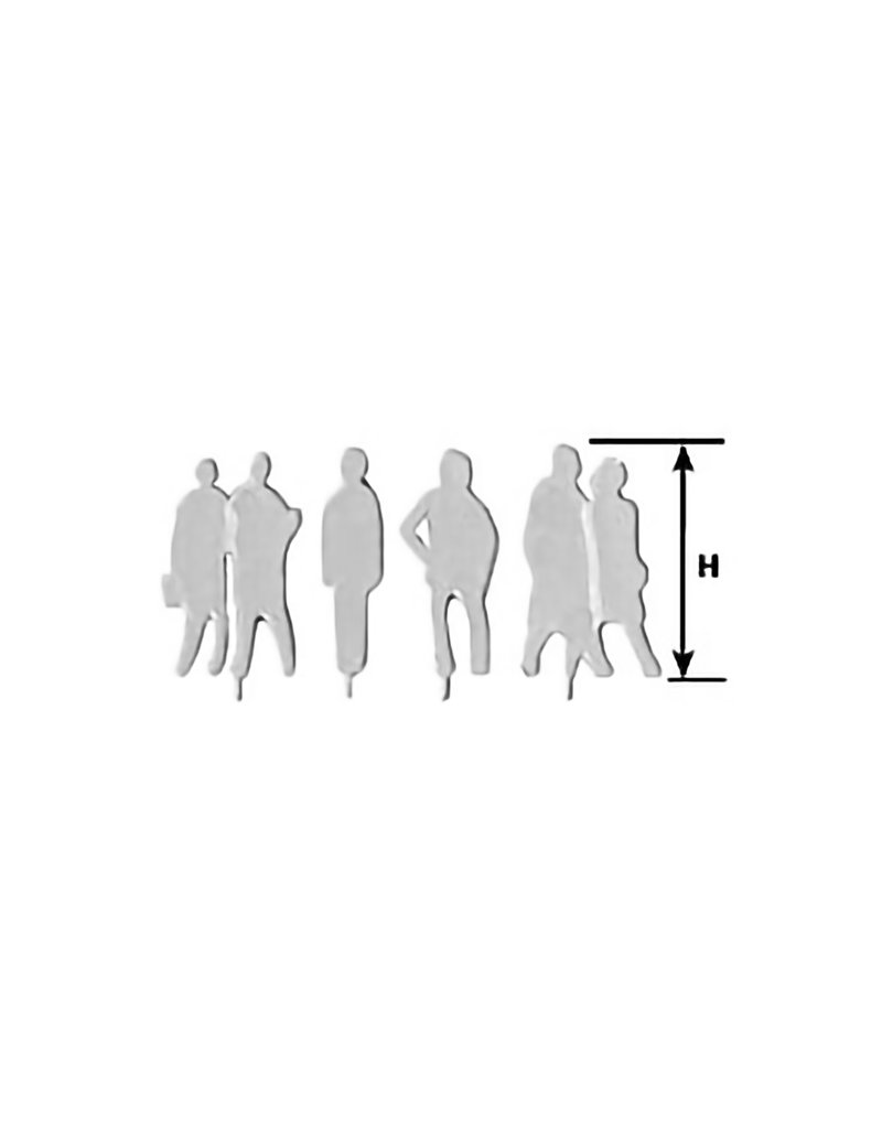 PLASTRUCT 1/8 SCALE SILHOUETTES