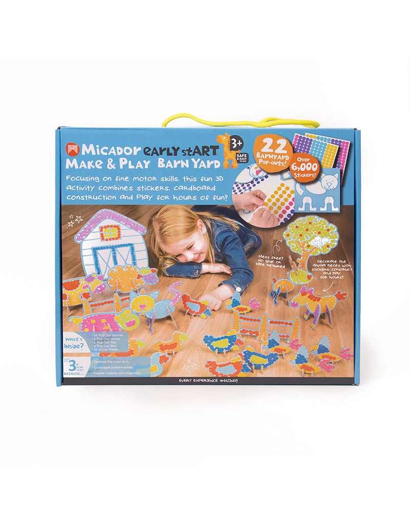 MICADOR EARLY START MAKE & PLAY BARNYARD