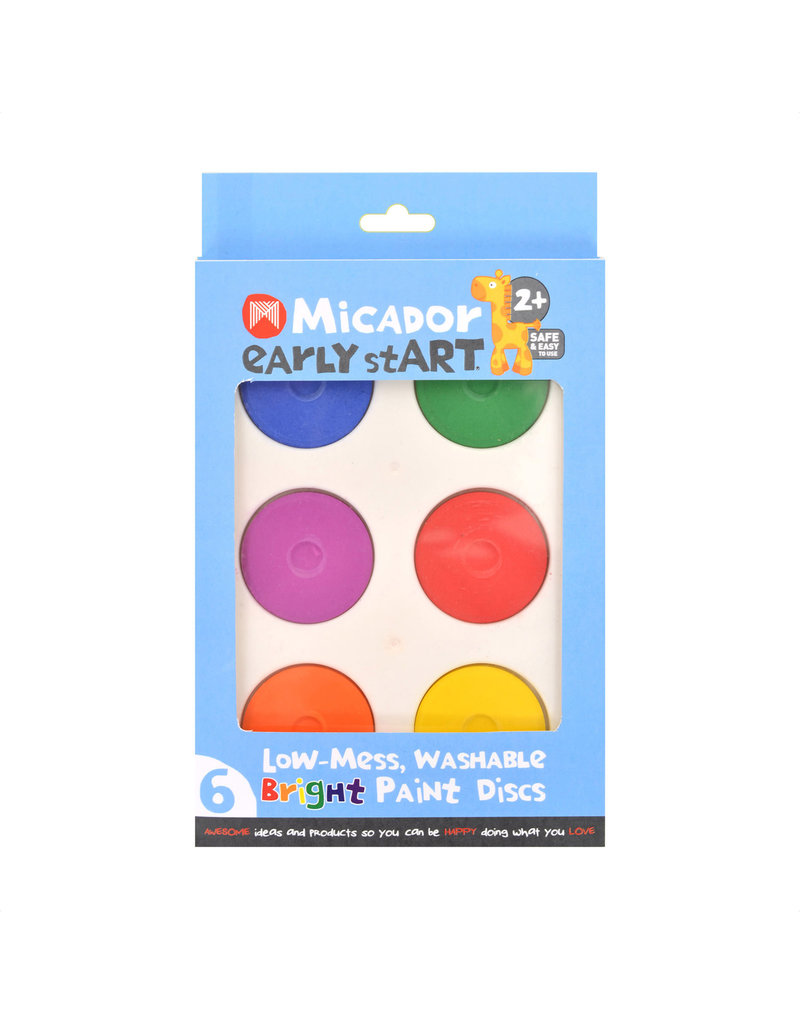 MICADOR EARLY START LOW-MESS WASHABLE BRIGHT PAINT
