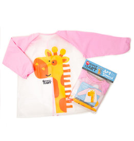 MICADOR EARLY START ART SMOCK PINK