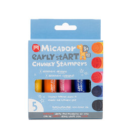 MICADOR EARLY START CHUNKY STAMPERS 5PK