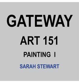 HULL'S ART 151 - PAINTING I - SARAH STEWART