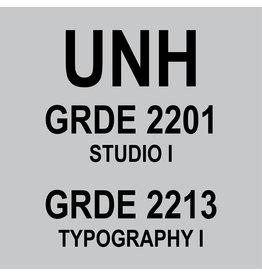 UNH GDRE 2213 + GRDE 2201