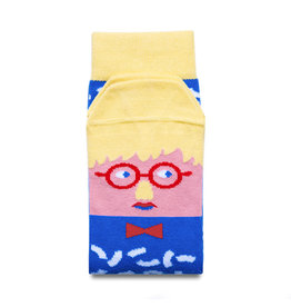 CHATTY FEET CHARACTER SOCKS DAVID SOCK-KNEE