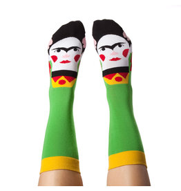 CHATTY FEET CHARACTER SOCKS FRIDA CALLUS