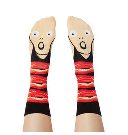CHATTY FEET CHARACTER SOCKS SCREAMY ED