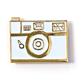BADGE BOMB ENAMEL PIN CAMERA