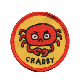 BADGE BOMB PATCH CRABBY