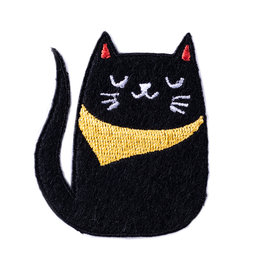 BADGE BOMB PATCH BANDANA CAT