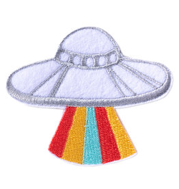 BADGE BOMB PATCH UFO