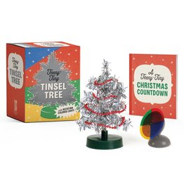 RUNNING PRESS TEENY-TINY TINSEL TREE KIT