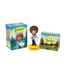 RUNNING PRESS BOB ROSS BOBBLEHEAD