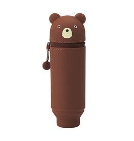 PUNILABO PUNILABO SILICONE PENCIL CASE BEAR