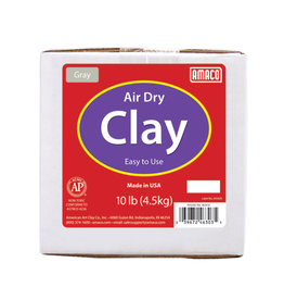 AIR DRY CLAY GRAY 10LBS