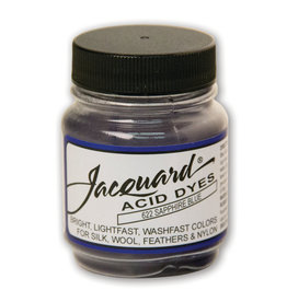 JACQUARD ACID DYE .5OZ SAPPHIRE BLUE