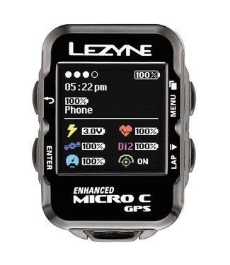 Lezyne Lezyne, Micro Colour GPS, Cyclometre, GPS: Oui, Cardio: En option, Cadence: Optionnelle, Noir