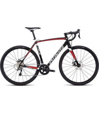 Specialized CRUX E5 NOIR/ROUGE/BLANC 52