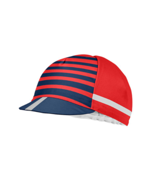 Castelli CASQUETTE FREE KIT CYCLING RED/CHINA BLUE