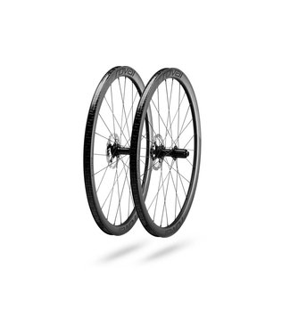 ROVAL RAPIDE C 38 DISC WHEELSET - Satin Carbon/White