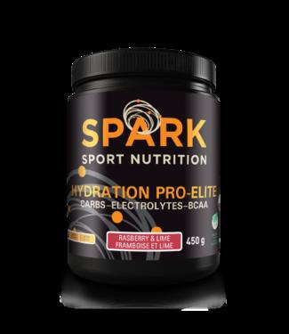 SPARK SPARK PRO ELITE CAFEINE  - FRAMBOISE/LIME 450GR
