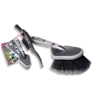 Muc-Off Trousse de 3 brosses