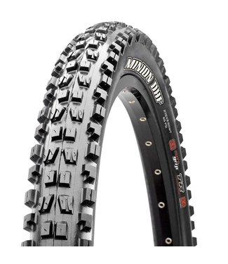 Maxxis Minion DHF, Tire, 27.5''x2.60, Folding, Tubeless Ready, 3C Maxx Terra, EXO, 120TPI, Black