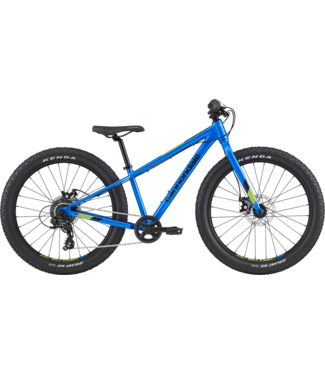Cannondale 24+ U Cujo ELB OS Electric Blue One Size