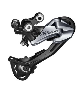 Shimano REAR DERAILLEUR, RD-M3000-SGS, ACERA, 9-SPEED, TOP-NORMAL, SHADOW DESIGN, DIRECT ATTACHMENT(DIRECT MOUNT COMPATIBL E), IND.PACK