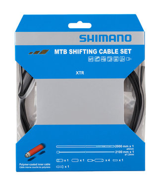 Shimano ENSEMBLE MTB POLYMER COATED SHIFT CABLE SET FOR REAR DERAILLEUR