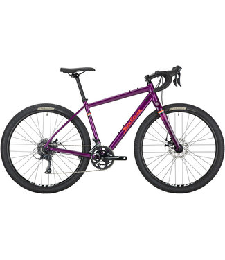 SALSA Salsa Journeyman Sora 650 Bike - 650b, Aluminum, Purple, 52cm