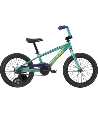 Cannondale 16 F Kids Trail SS TRQ OS Turquoise One Size