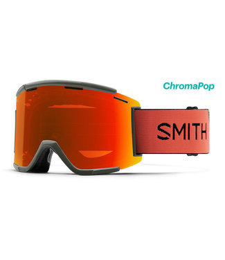 SMITH SQUAD XL MTB SAGE / RED ROCK CHROMAPOP EVERYDAY RED MIRROR