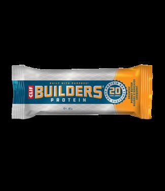CLIF Clif, Builder, Barre energetique, Beurre d'arachide croquant, 12x68g