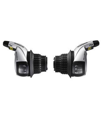 Shimano LEVIER, SL-RS45, TOURNEY 8V  R&L REVO SHIFTER R 2050MM, L:1800MM 600 X 600 X 300MM BLACK OUTER, IND.PACK